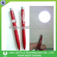 Metal Led Logo Image Projection Pen