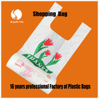 logo printed new design shopping plastic bags