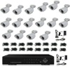 Good quality,clear image ,16CH 700TVL complete cctv system