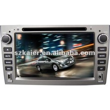 """7"""" Car navigation and entertainment system for Peugeot 408 with 8CD,BT,IPOD,TV and IPHONE menu"""