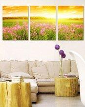 Sunset Landcape Wall Art Canvas Photo Printing