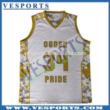 Full Dye Sublimation Basketball Jerseys Basketball Team Gear