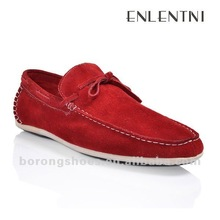 Red color men casual shoes summer