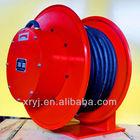 industrial steel spring cable reel drum,slip ring built-in type coiler cable reel