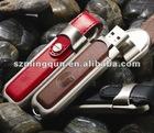 OEM leather usb pen drive,2gb 4gb 8gb 16gb leather disk
