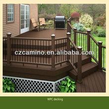 anti-UV no paint barefoot wood plastic composite