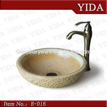 Casa de banho top montagem da arte de cerâmica sinks_hand lavatório colour_glass lavatório preço