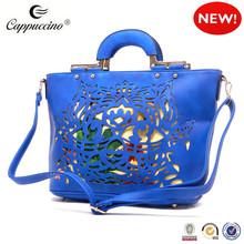 2015 Chinese style Floral Laser Printed women bags handbag top handbag