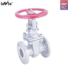 "China manufacture 5"" manual flange end gate valve"