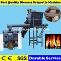 Automatique de la biomasse hêtre Piston sciure de briquettes Machine de presse