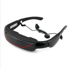 "Portable Eyewear 72"" Widescreen Multimedia AV IN FPV Video Glasses"