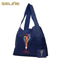 Fashion new design reusable crazy selling smart foldable nylon bags
