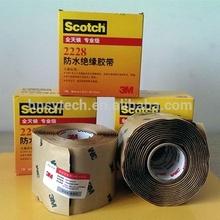 Haute qualité SUPERIA 3 M marque ruban adhésif étanche / 3 M Scotch 2228 caoutchouc ruban électrique