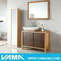 vama libre de pie de madera sólido componente mobiliariodesala