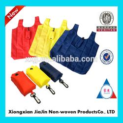polyester foldable bags/ nylon foldable bags/ foldable shopping bags