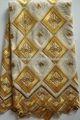 Premium grande projeto bordado do laço do algodão suíço rendas tecido, africano tecidos para roupas para vestir para perucas