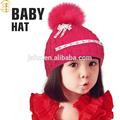 2015 merino de lana de la navidad de la gorrita tejida Hotsale Crochet los sombreros del bebé encantadora del cerdo del Peppa de lana de punto de los bebés sombreros