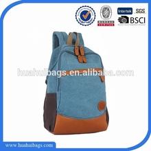 Fashion Custom Vintage Canvas Backpack Wholesale For Teenage Girls