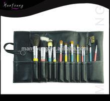 2014 new cosmetic makeup brush/brushes set with beauty designer bag 12pcs