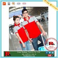 Hot sale 100 cotton printed couple's polo shirt
