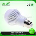 di alta qualità 3w e27 lampadina led diilluminazione a led lampada 220v