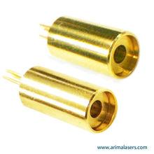 635nm 3mW 3V D6.2mm Red Laser Diode Module, Adjustable Focus Glass Lens Big Clear Aperture Red Laser Diode Module