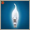 regulable 360 5w grado led lámpara de la vela e14 e17 b22 b15 e27