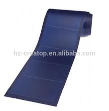 Flexible amorphous solar panel, flexible thin film solar panel, flexible solar panel