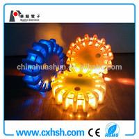 9-in-1 traffic led rotary warning light dc12v/24v ac110v/220v