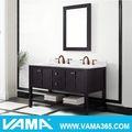Vama v-19713d 60'' de madeira estilo americano vaidade do banheiro do armário