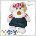 Tecido macio super bonito cão brinquedos de pelúcia, brinquedos de pelúcia personalizados, macio cachorro de brinquedo para crianças