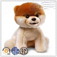 Super Soft Fabric Cute Dog Plush Toy,Custom Plush Toys,hot-sales vinyl dog toy football