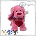 Tecido macio super bonito cão brinquedos de pelúcia, brinquedos de pelúcia personalizados, bonito brinquedos de pelúcia cães