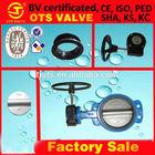 BV-SY- 383 cast iron ggg40 gg25 GCD450 butterfly valve wafer