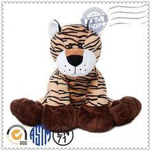 China manufacturer lifelike custom plush tiger handbags purses kid handbag plush toy