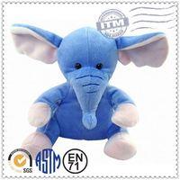 Handmade custom stuffed animal soft stuffed elephant riding toy