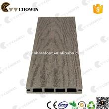Park decorative recycled teak planks