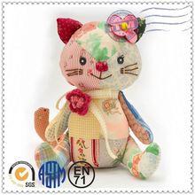 Plush toy cat lifelike moving toy cat