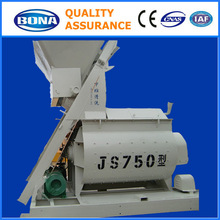 Widely used stationary JS750 price of concrete mixer