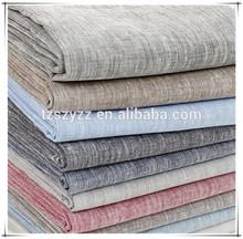 High quality flax textile fabrics