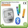 CE ISO Bluetooth Blood Glucose, Uric Acid, blood cholesterol test