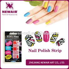 Vivi nail professional real nail polish nail strips wholesale