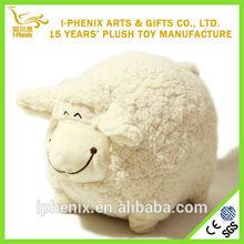 Promotional Lovely Fat Globular Sheep Minion Plush Toy Animals OEM