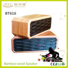 Favorever wooden bluetooth professional speaker