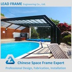 Large Span Prefab Roofing Steel Truss Swimming Pool