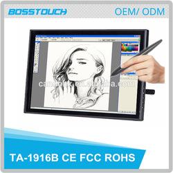 """19"""" tablet monitor electronic digital writing pad/Signature Pad/erasable drawing pad"""