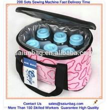 Promotional cooler bag for giveaway, insulating effect cooler bag,polyester cooler bag