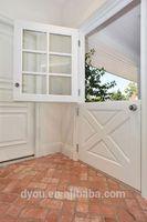 factory price high quality fashionable aluminum half height swing door