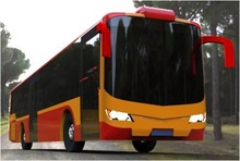 best quality city bus modeling design for sale