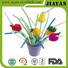 fruit plastic drinking straw